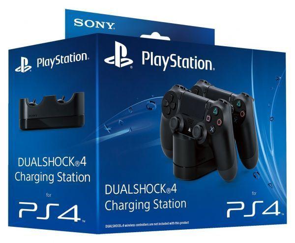 Зарядная станция для 2х контроллеров PS4 (Dualshock 4 CUH-ZDC1/E: SCEE)