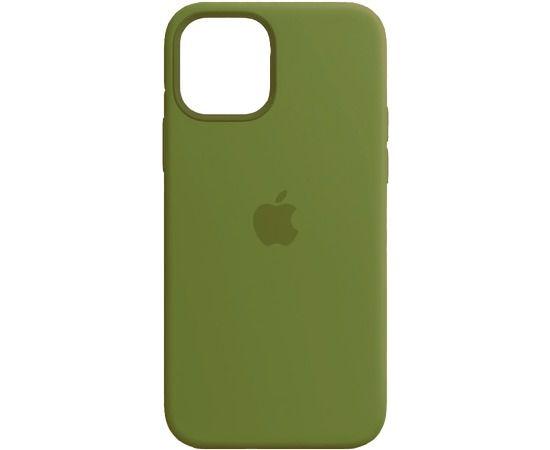 Чехол iPhone 12/12 Pro Silicone Case Pine Green