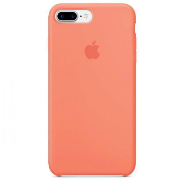 Silicone Case iPhone 7/8 Plus Apricot