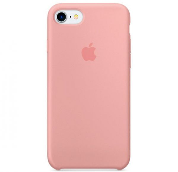 Silicone Case iPhone 7/8 Light Pink