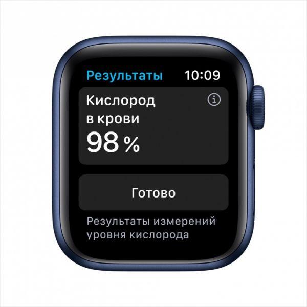 Apple Watch S6 40mm Blue Aluminum Case / Blue Sport Band