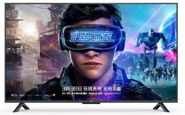 "Телевизор Xiaomi Mi TV 4S 55"" (3840x2160/8Gb/Wi-Fi) черный"