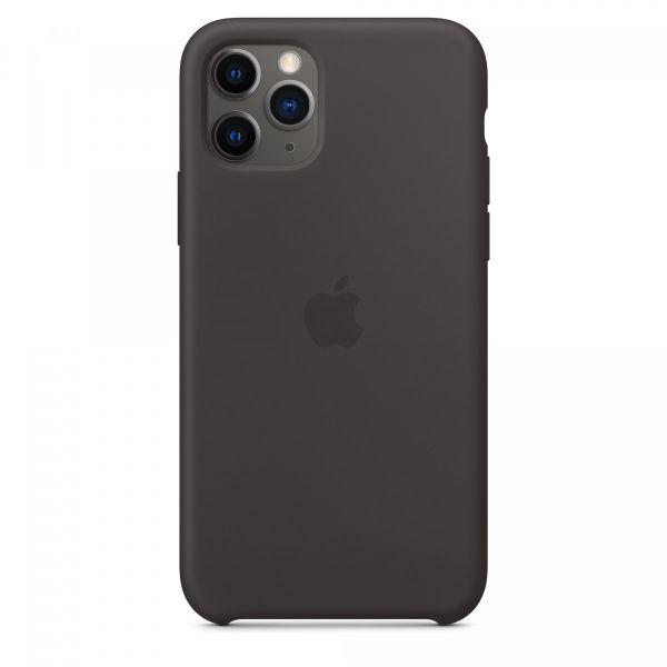 Silicone Case iPhone 11 Pro Black